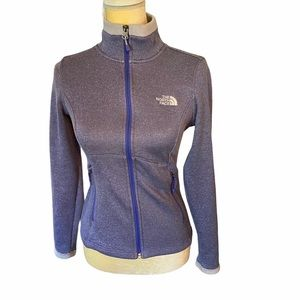 The North Face Purple Full Zip Agave Jacket